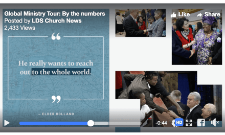 The best summary of President Nelson's GLOBAL MINISTRY TOUR we have seen!