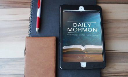 DAILY MORMON — get emailed a *FREE* BOOK OF MORMON scripture every day with a ponder question. Now in print format!