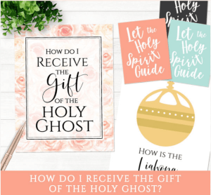 Primary Baptism How Do I Receive The Gift Of Holy Ghost LDS Mormon
