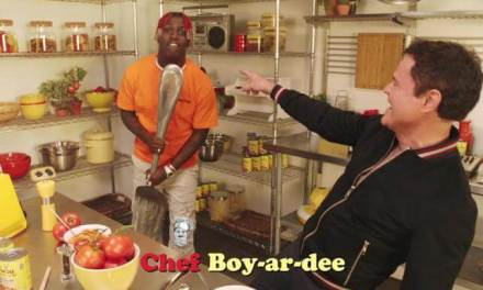 Lil Yachty and Donny Osmond croon about Chef Boyardee