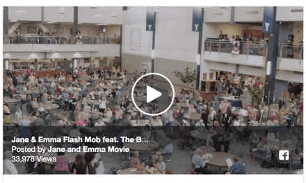 EPIC FLASH MOB! Jane and Emma cast stuns BYU Education Week crowd