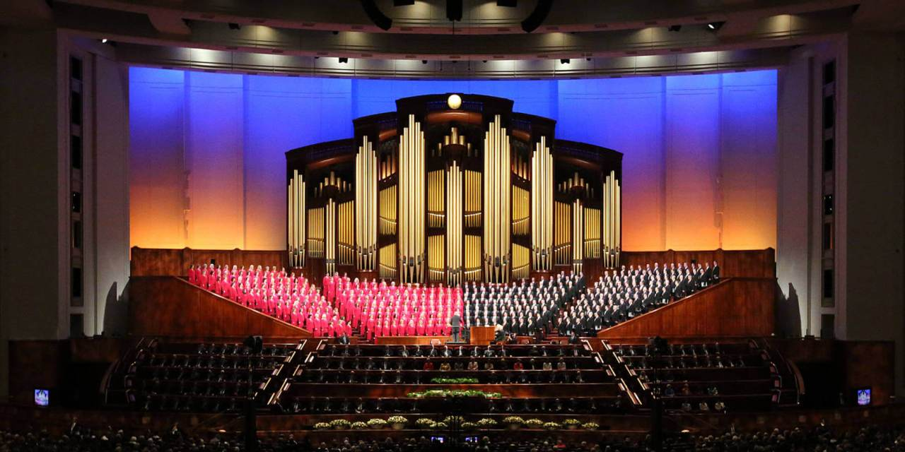 "Out with ""Mormon Tabernacle Choir."" In with ""The Tabernacle Choir at Temple Square."""