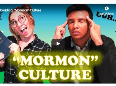"""MillennialMormon Avoiding """"Mormon"""" Culture LDS"""