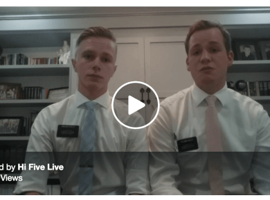 Hi-Five Live LDS Mormon Facebook Live Video