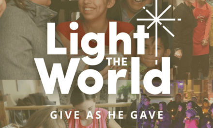 #LightTheWorld Home Evening Lesson: Teaching about service