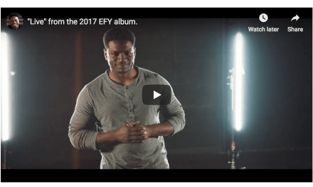 """VIDEO: """"Live"""" by Yahosh (from the 2017 EFY album)"""