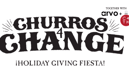 #Churros4Change event on #GivingTuesday can help #LightTheWorld!
