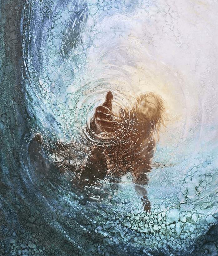 The Hand of God Kim Korean Mormon LDS