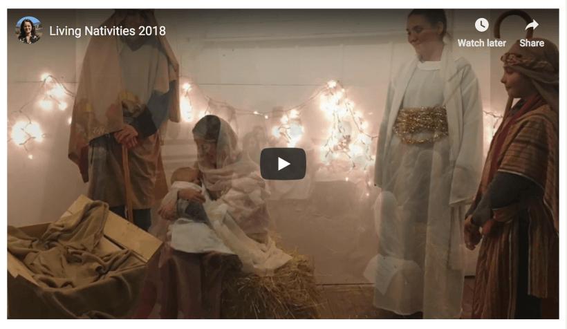 #lighttheWorld live nativity