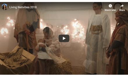 Stevensville, Montana stake uses a live nativity to #LightTheWorld!