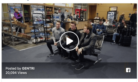 VIDEO: GENTRI warms hearts for delayed airport passengers (must see!)