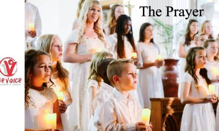 """The Prayer"" performed by Mindy Smoot Robbins, Dallyn Vail Bayles, and One Voice Children's Choir will make your day!"
