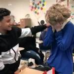 VIDEO: 'No bullying here': Students surprise classmate with random act of kindness
