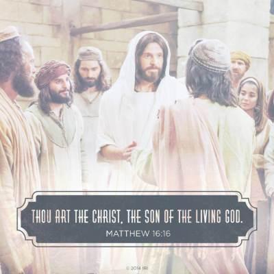 COME, FOLLOW ME LESSON AIDS: APRIL 1 – APRIL 8; Matthew 16–17; Mark 9; Luke 9 ( Thou Art the Christ ) Meme matthew jesus 1223083 wallpaper