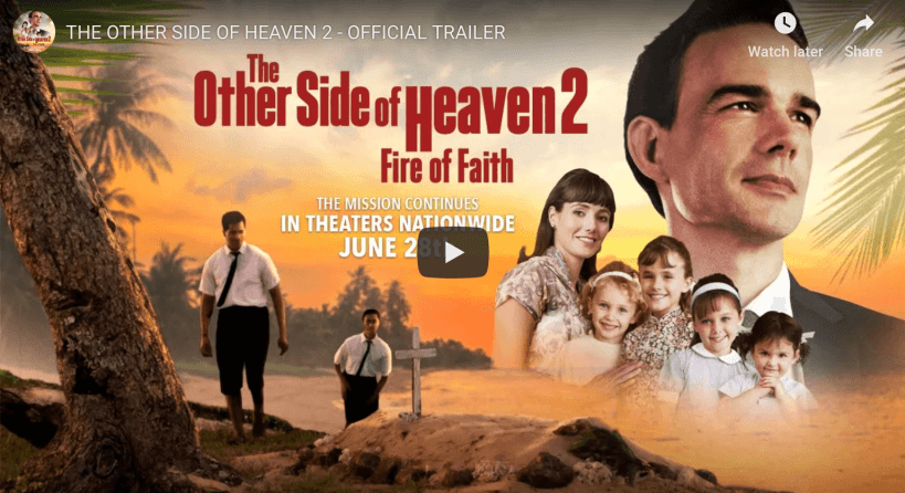The Other Side of Heaven 2: Fire of Faith LDS Mormon Movie Groberg Davis