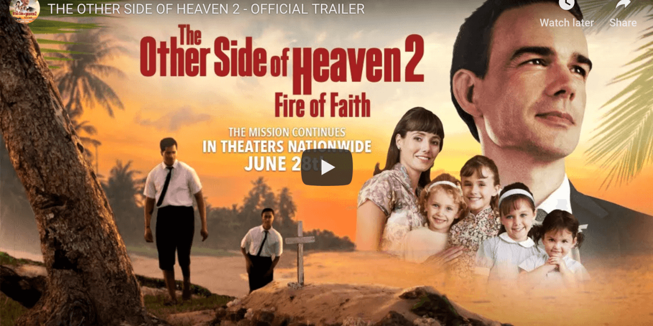 IN A MIRACULOUS FEAT THE OTHER SIDE OF HEAVEN 2INCREASES  ITS BOX OFFICE 86% IN WEEK SIX