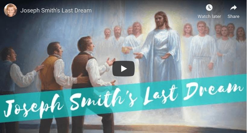Joseph Smith's Last Dream Seth Adam Smith