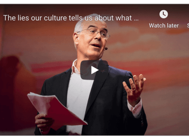 The lies our culture tells us about what matters --- and a better way to live | David Brooks Mormon LDS Nephi Ted Talk