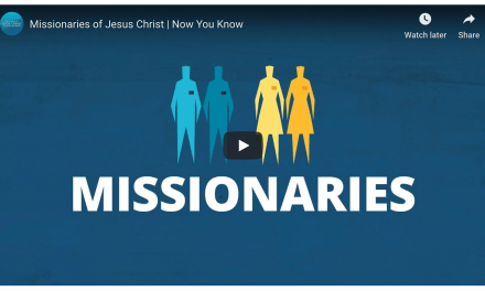 Missionaries of Jesus Christ (Mormon missionaries and what they do)