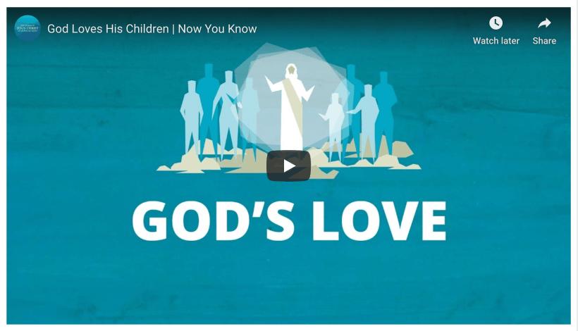 God's Love LDS Mormon