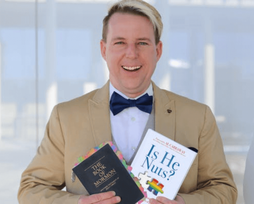 """Mormon News Report podcast INTERVIEW: DENNIS SCHLEICHER, """"IS HE NUTS: WHY A GAY MAN WOULD BECOME A MEMBER OF THE CHURCH OF JESUS CHRIST?"""""""