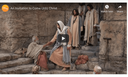 An invitation to Come Unto Christ and be perfected in Him