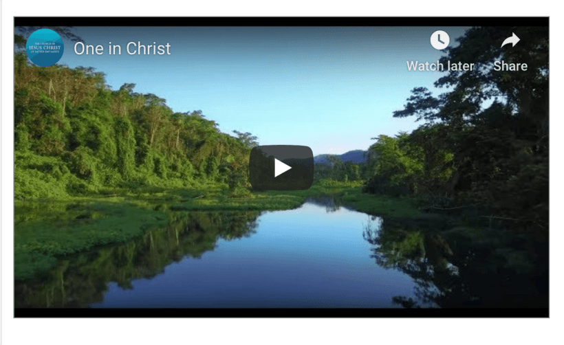 video lds mormon One in christ