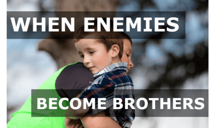 When enemies become brothers