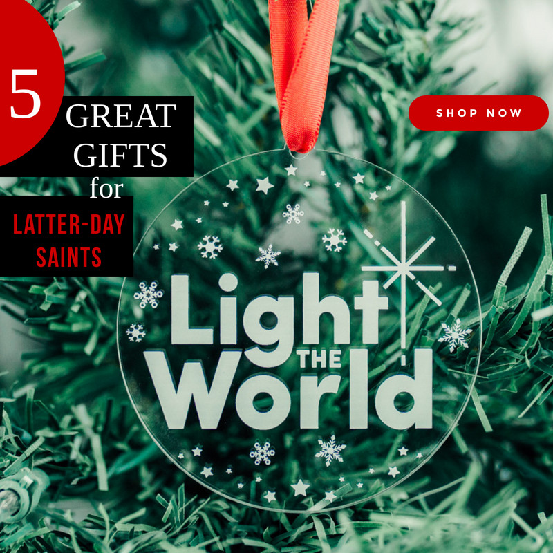 5 Great Christmas Gifts for Latter-Day Saints #LightTheWorld LDS Bookstore Deseret Book Seagull