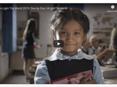 Celebrate Christmas with #LightTheWorld 2019: One By One