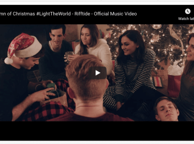 Hymn of Christmas #LightTheWorld - Rifftide - Official Music Video LDS Mormon a capella o/b/a