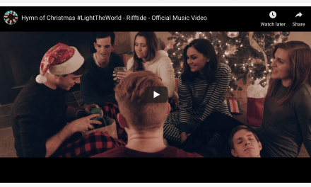 VIDEO: Rifftide and 13 other Latter-day Saint artists collaborate on HYMN OF CHRISTMAS to help #LightTheWorld