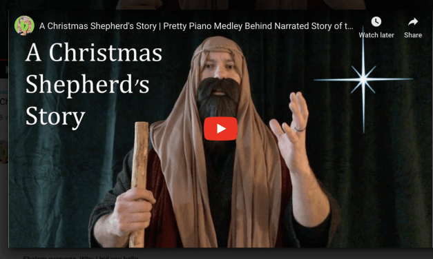 A Christmas Shepherd's Story | Pretty Piano Medley Behind Narrated Story of the First Christmas