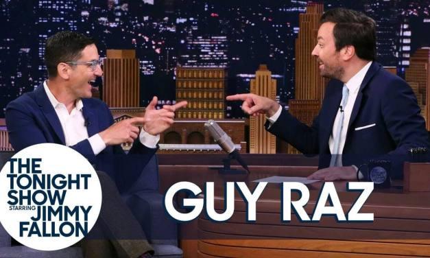 "NPR's Guy Raz on Jimmy Fallon's THE TONIGHT SHOW: ""Mormons are great entrepreneurs"""