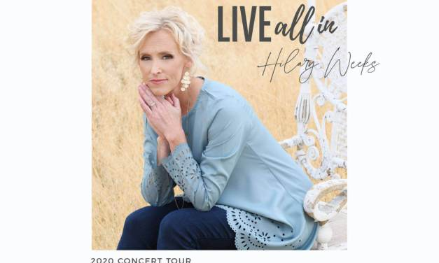 Acclaimed Latter-day Saint singer-songwriter Hilary Weeks concert tour — LIVE ALL IN 2020 Concert Tour