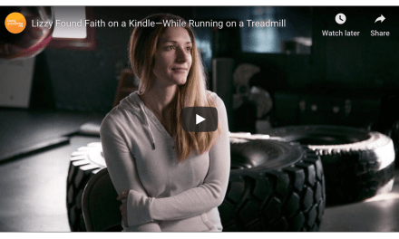 Video: Kindle faith on a treadmill? Lizzy did. See how The Book of Mormon changed her . . .