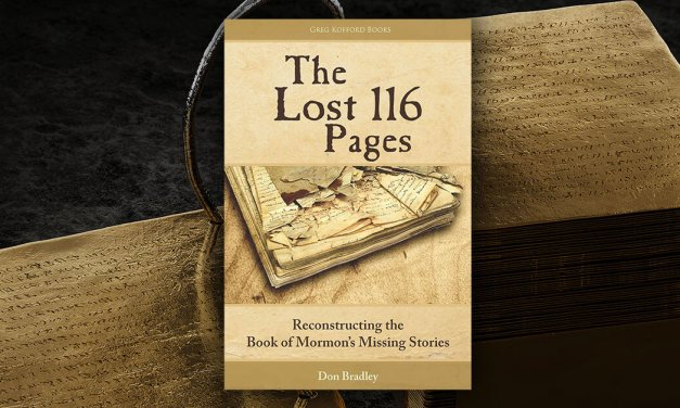 Don Bradley, author of The Lost 116 Pages: Reconstructing the Book of Mormon and its Missing Stories