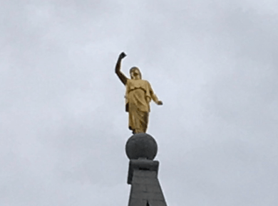 Moroni lost his trumpet? Utah reels after #Covid19 is followed by #Earthquake