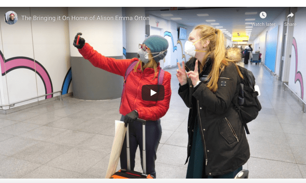 VIDEO: The missionary homecoming and the bringing it on home of Alison Emma Orton