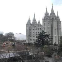 Salt lake temple earthquake
