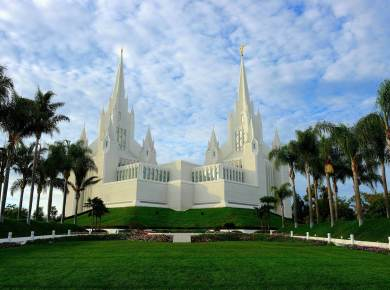 Mormon San diego california temple