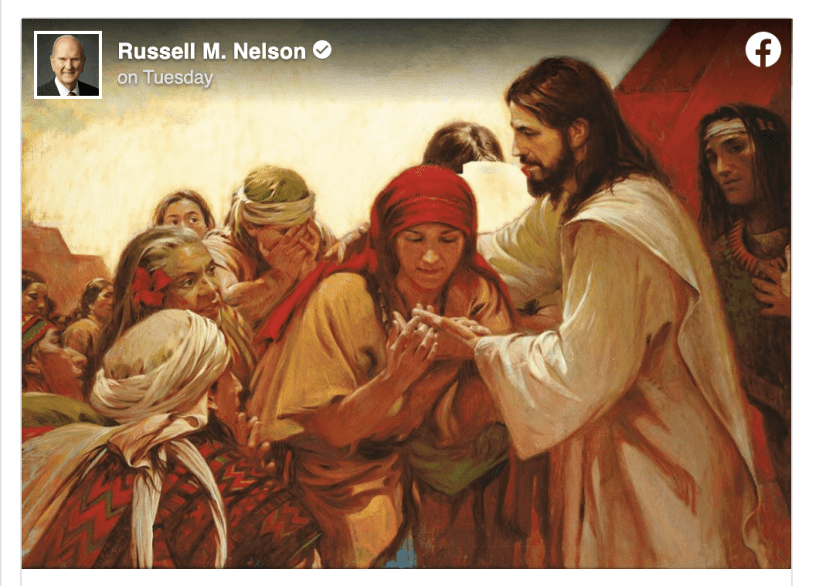 President Russell M. Nelson offers comfort and hope amidst COVID-19 and coronavirus concerns