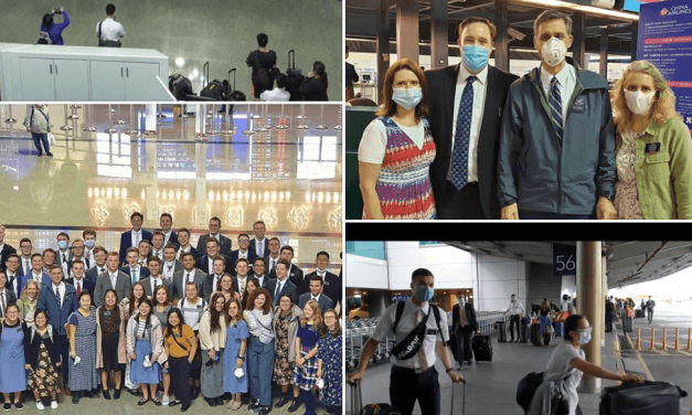VIDEO: Latter-day Saint missionaries leaving Taiwan due to COVID-19  😢