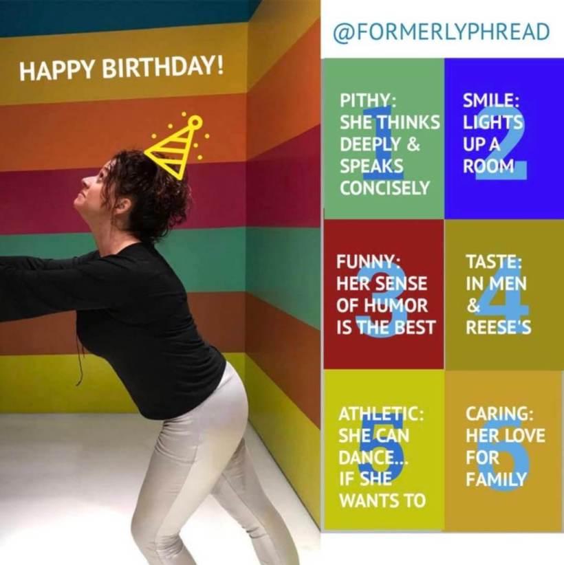 Jenny Noonan Dye formerlyphread birthday dyejo