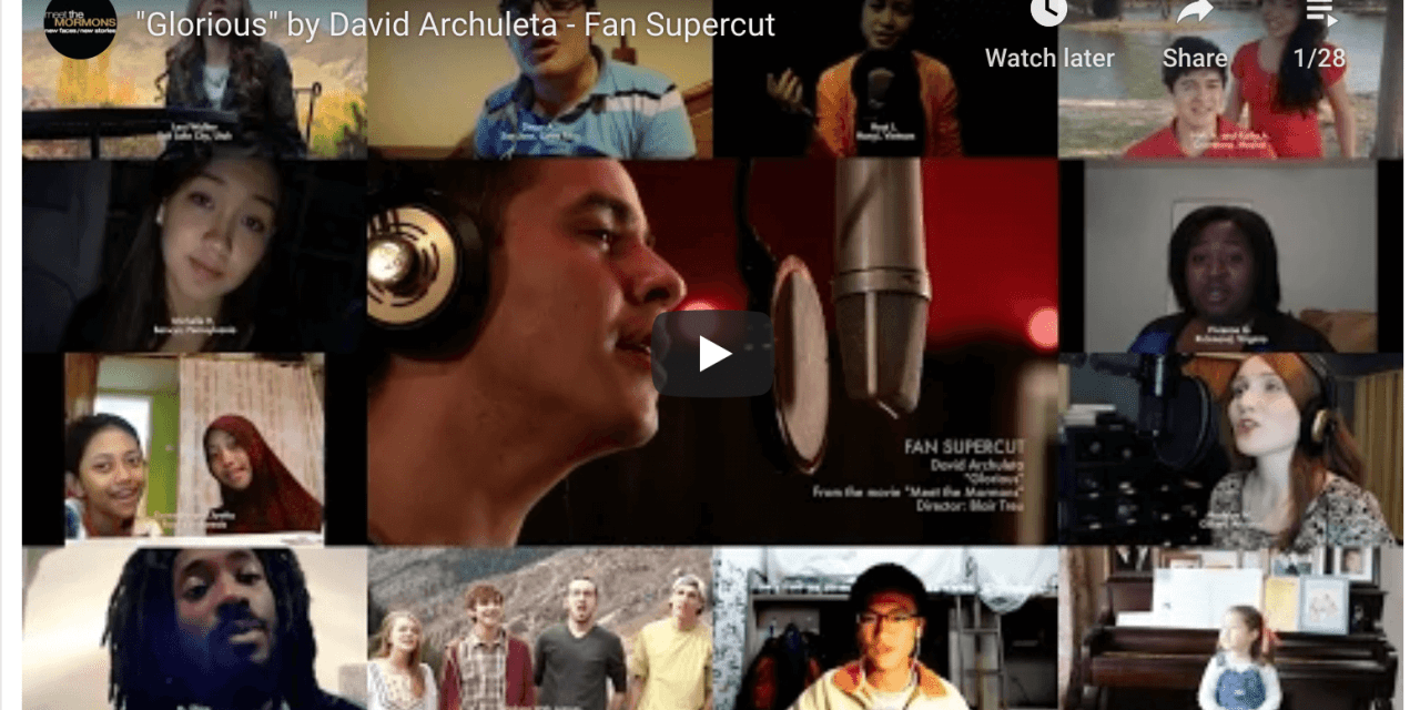 "VIDEO: ""Glorious"" by David Archuleta – Fan Supercut"