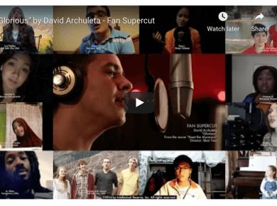"VIDEO: ""Glorious"" by David Archuleta - Fan Supercut"