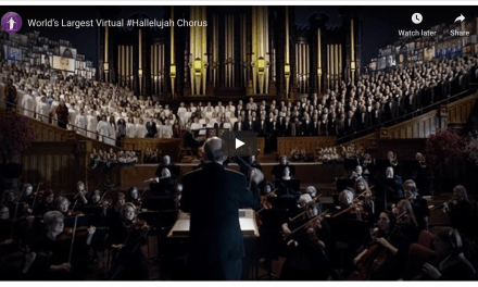 VIDEO: World's Largest Virtual #Hallelujah Chorus (Easter) 🐣