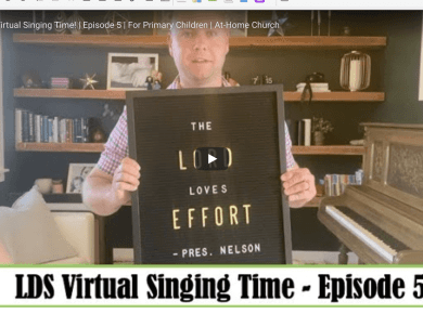 LDS Virtual Singing Time! | Episode 5 | For Primary Children | At-Home Church video