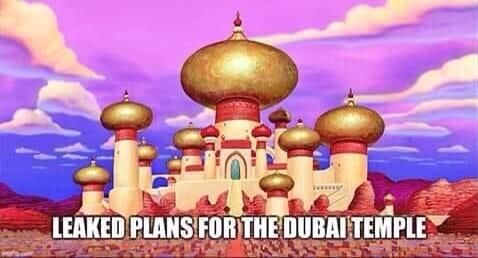 Leaked plans for the Dubai temple? LDS Mormon