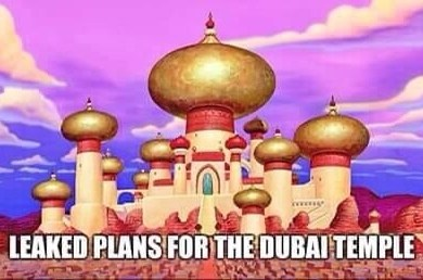Leaked plans for the Dubai temple? LDS Mormon
